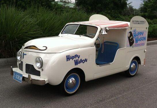 1952 Crosley ice-cream truck