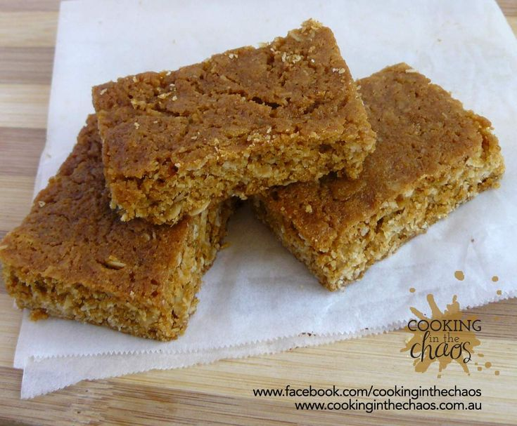 Recipe ANZAC Slice by Cooking in the Chaos - Recipe of category Baking - sweet