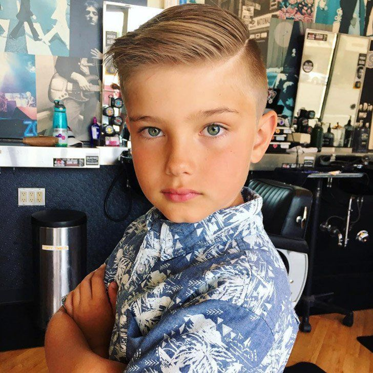 20 Coolest Boys Haircuts And Hairstyles For 2018 Cool Boys Haircuts Boy Haircuts Short Boys Haircuts
