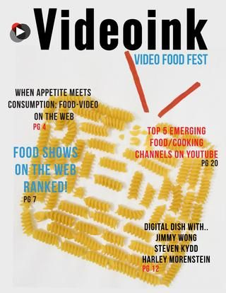 From the top 10 food shows on the web, to profiles of of top YouTube foodies, our food special issue has it all for a Video Food Fest. Feast your eyes!