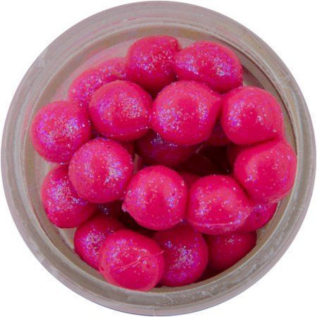 Berkley Fishing 1103828 Powerbait Sparkle Power Eggs Floating Magnum Soft Bait [pink With Scales] #BerkleyFishing