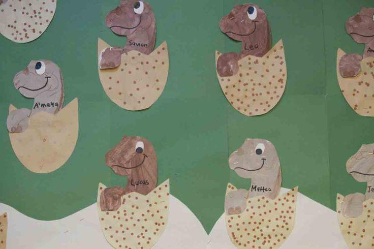 Dinosaur Art Projects | March Dinosaur Activities | Love & Learn Nursery School