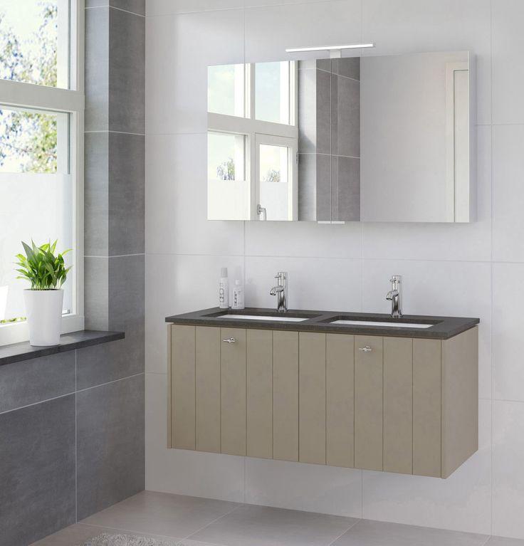 25 beste idee n over modern landelijke badkamers op pinterest familie badkamer badkamers en - Landelijke badkamer meubels ...