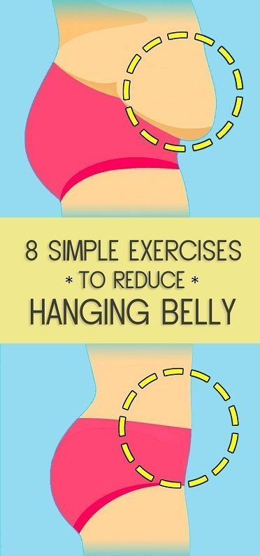 8 Simple Exercises to Reduce Hanging Belly Fat – Rosalia Silva