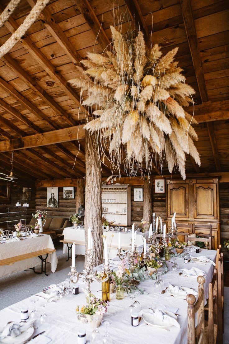 mariage Folk et Bohème dans une grange landaise – #bohème #dans #Decomariagebo…