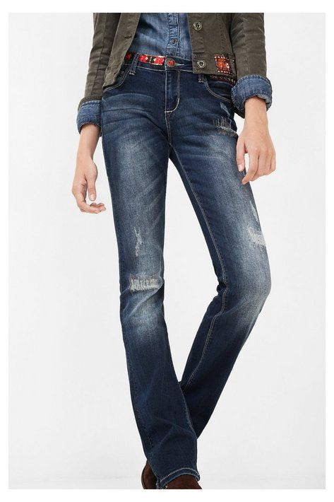 Pantalone di jeans a zampa - Denim Nai Scopri la collezione autunno/inverno 2016!