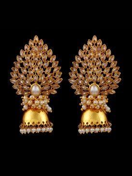 Paan leaf Jhumka
