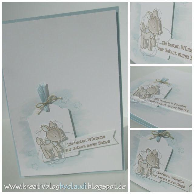 www.kreativblogbyclaudi.blogspot.de: Himmelblau