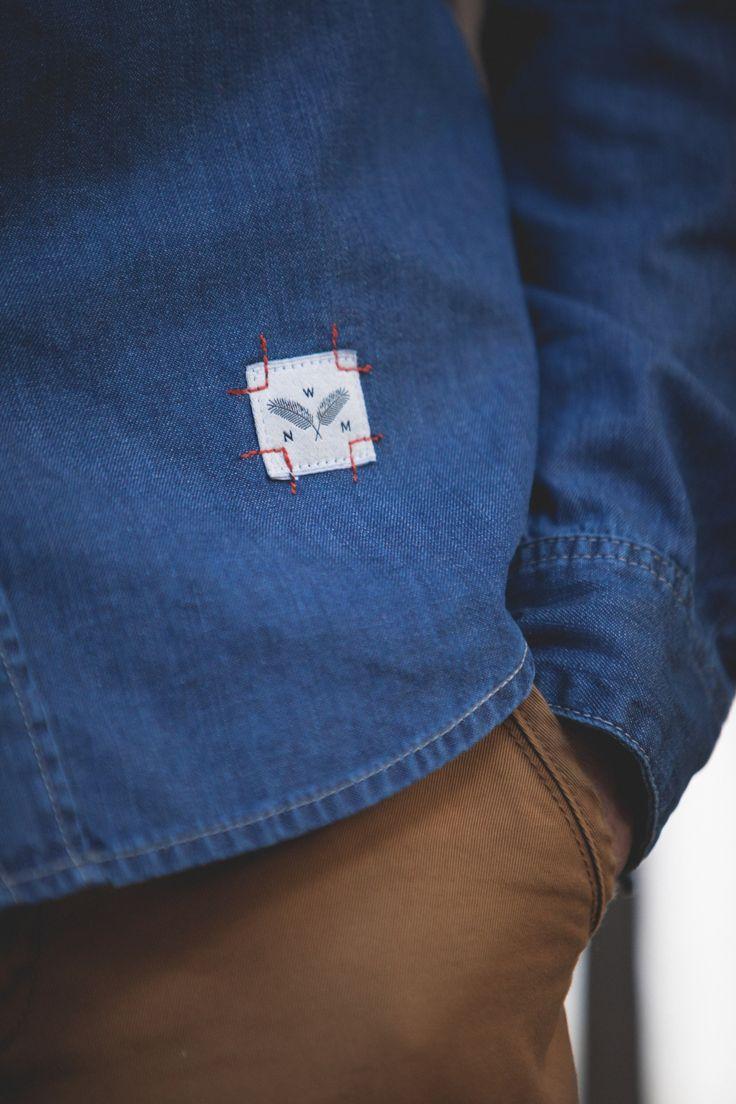 Denim Shirt Detail.