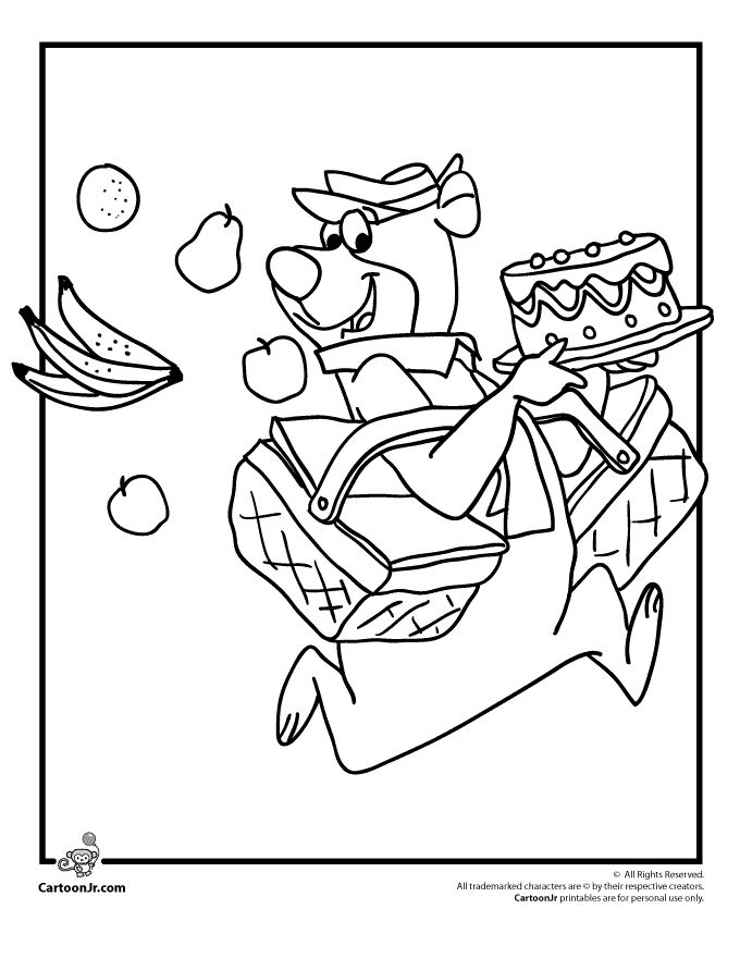 35 best YOGI BEAR AND BOO BOO images on Pinterest | Coloring sheets ...