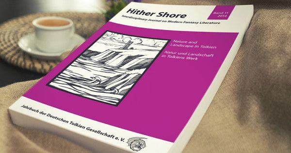 """Pünktlich wie eh und je erschien der Hither Shore 11 zum Tolkien Seminar 2015. Thema des Seminars 2014 und damit auch des diesen Jahres erschienen Hither Shores 11 ist """"Natur und Landschaft in Tolkiens Werk"""". Jetzt alle Infos zum neuem Hither Shore. #hithershore #jahrbuch #seminar"""