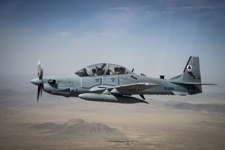 Afghan Air Force Embraer A-29B Super Tucano