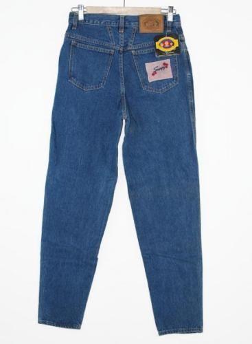 Snoopy-Peanuts-abbigliamento-uomo-blu-jeans-lunghi-uomo-vintage-anni-80-tg-45