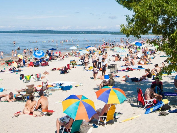 Exotic Canada: Go to the centre of it all in Manitoba at Grand Beach on Lake Winnipeg. The 12th largest lake in the world.