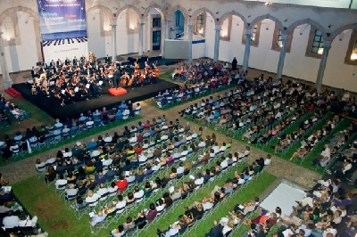 In July, August and September you might listen to classic music concerts the beautiful cloister of the Galleria d'Arte Moderna in Palermo | more info at www.palermoclassica.it