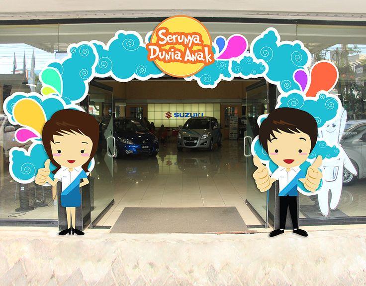 Gate Design of event Serunya Dunia Anak...