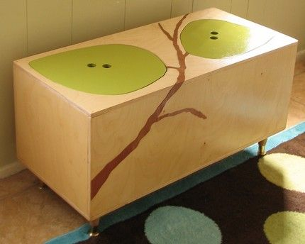 i like the idea, not crazy about the design...diy toy chest - Google Search