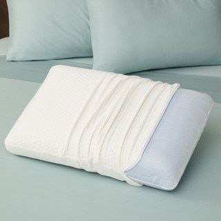 SwissLux European Styled Luxury Molded Ventilated Memory Foam Pillow - 12416472 - Overstock.com Shopping - The Best Prices on SwissLux Memory Foam Pillows