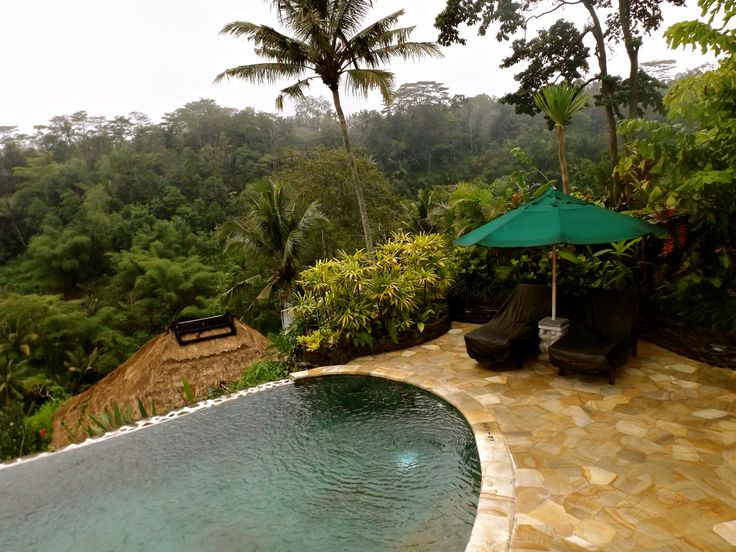 The private pool and view from our room #ALIKA