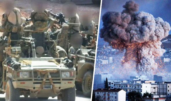 Elite SAS & M16 forces heading to Syria wipe out Islamic State | World | News | Daily Express