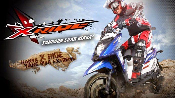 Yamaha X-Ride - Motor Matic Antimainstream yang Siap Menerjang Jalanan Terjal