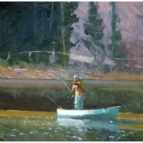 Fly fishing is in itself art and poetry great art like for Fishing worms near me