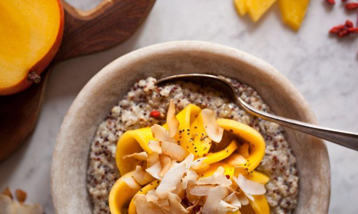 Kaše z quinoi a kokosového mléka | KITCHENETTE