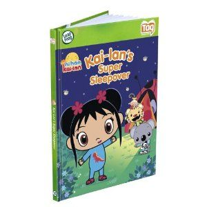 Leapfrog Tag Activity Storybook Ni Hao, Kai - Lan: Kai - Lans Super Sleepover by LeapFrog. $10.49. Use your Tag Reader to bring this story about Kai-lan's super sleep-over to life. The Tag library includes more than 25 books and games featuring characters from TV, movies and classic tales. Ni Hao, Kai-lan: Kai-lan's Super Sleepover introduces rhyming, social skills, Chinese vocabulary and sorting and classifying skills. Children can build vocabulary and reading skills th...
