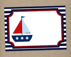 Resultado de imagen para invitacion marinero