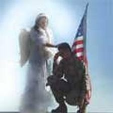 Watching over our troops: Gaurdians Angels, Angels Etc, Envy Angels, Bing Image, God Instructions, God Blessed, Angels Watches, Jesus Angels, Soldiers Veterans