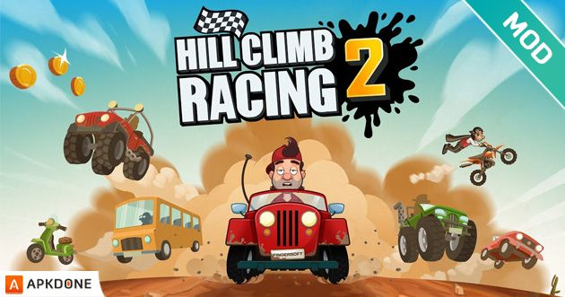 Hill Climb Racing 2 Mod Apk 1 35 0 Unlimited Money For Android