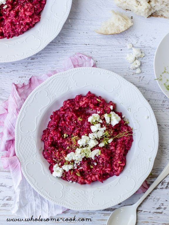 Beetroot and Fennel Risotto Nourish Magazine