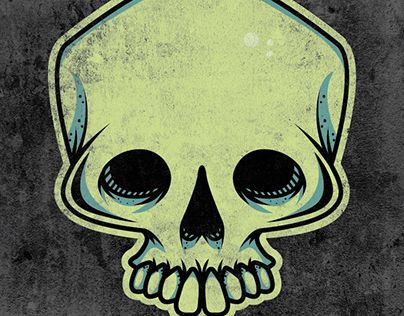 "Check out new work on my @Behance portfolio: ""Warped Canvas Skull Logo"" http://be.net/gallery/34928153/Warped-Canvas-Skull-Logo"