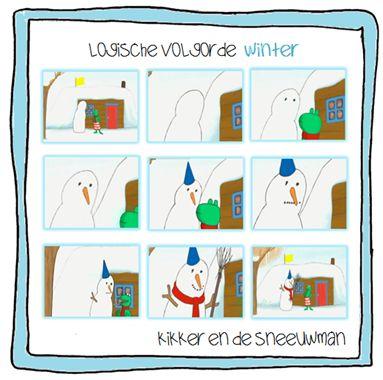 Kleuterjuf in een kleuterklas: Kikker in de kou