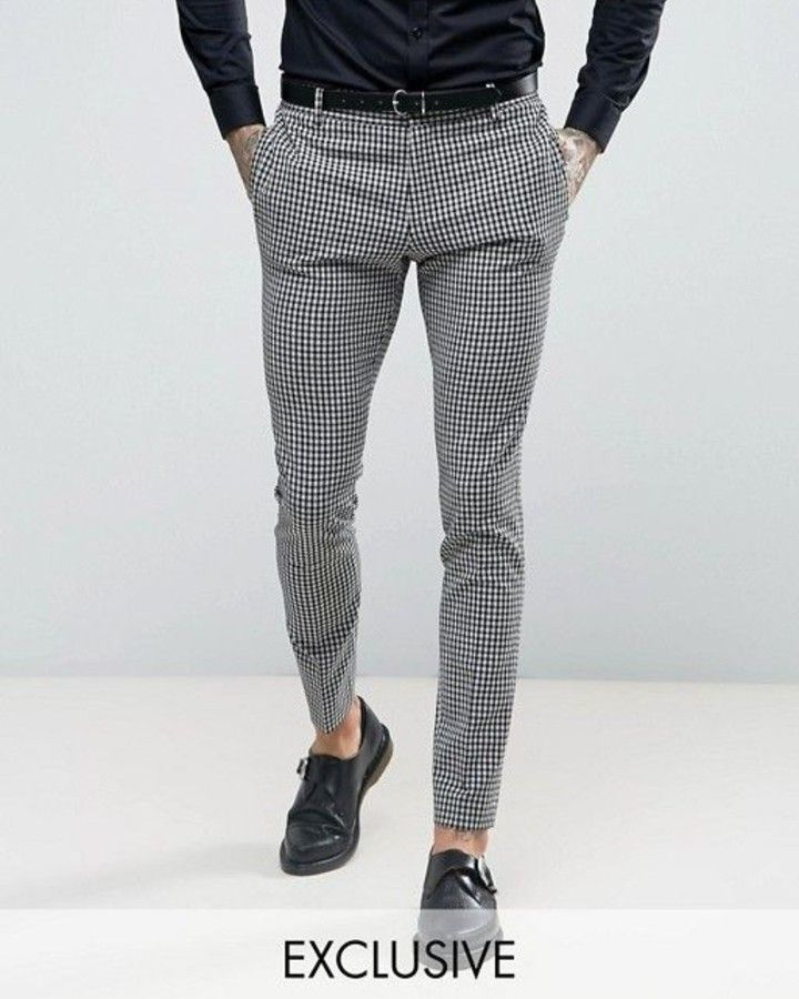 Pazari Design Style The Fastest Growing Instagram Account About Trousers B R A N Pantalones De Cuadros Hombre Moda Ropa Hombre Pantalones De Vestir Hombre