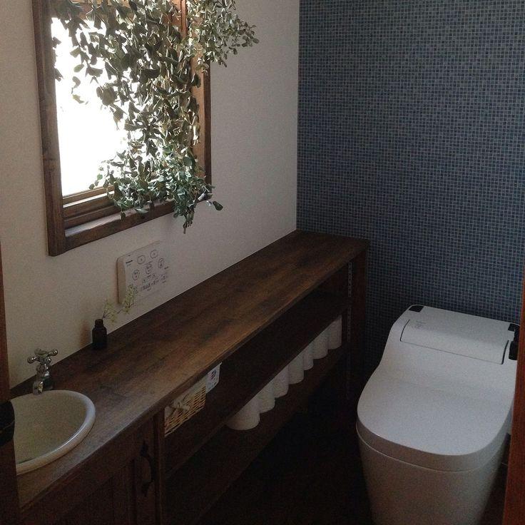 トイレのインテリア実例 - 2016-03-01 16:42:21 | RoomClip(ルームクリップ)