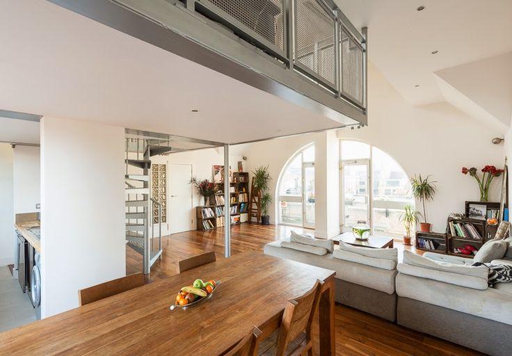 Design Hub - блог о дизайне интерьера и архитектуре: Квартира на чердаке в Лондоне