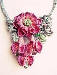 Jewellery+crochet | Crochet Jewellery