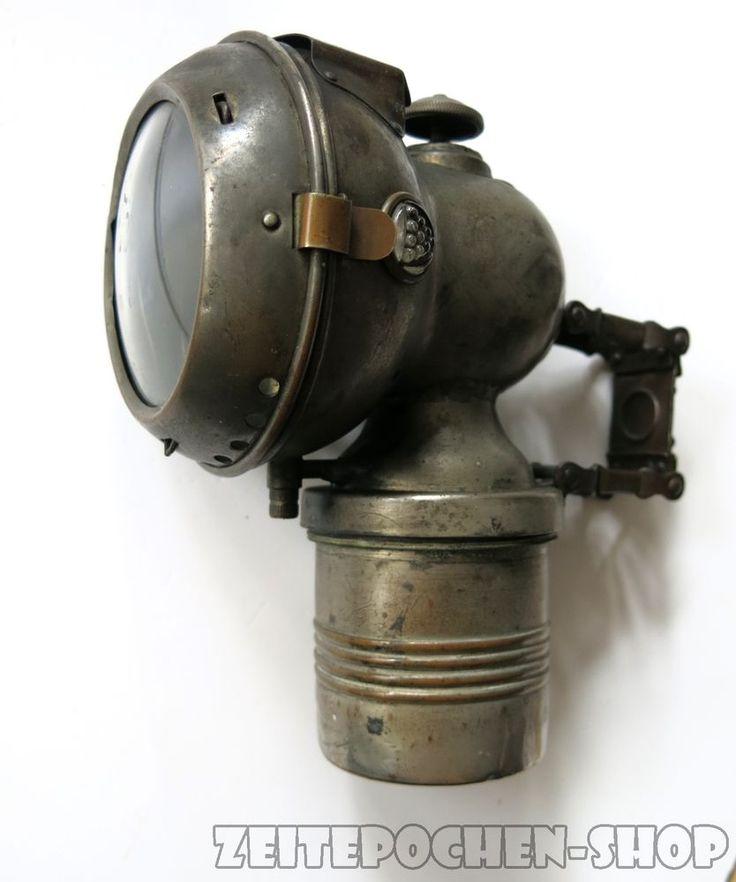 Balaco Karbidlampe - Fahrradlampe | Fahrrad Zubehör Oldtimer Ersatzteile in Sammeln & Seltenes, Transport, Fahrrad | eBay