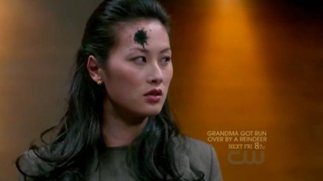 Olivia Cheng as the Leviathan Susan in CW's Supernatural.