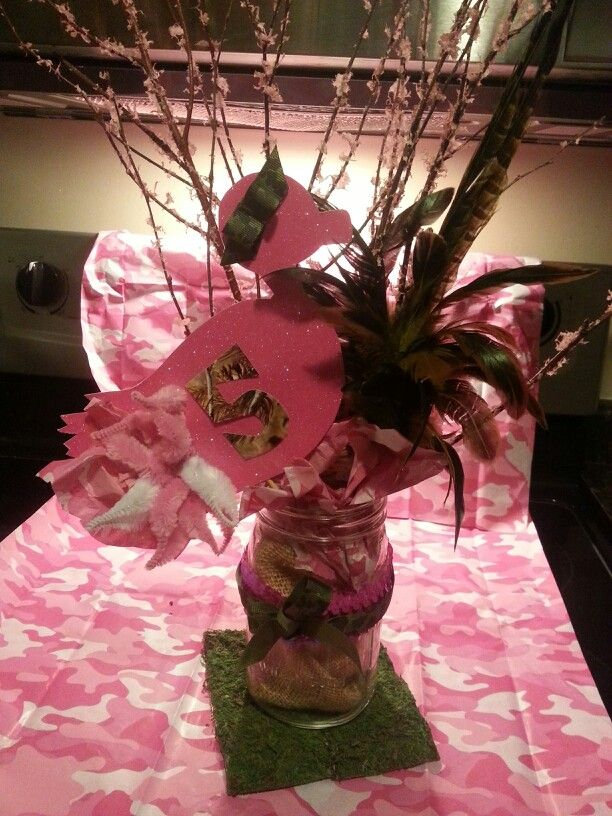 Best 25 Pink Camo Party Ideas On Pinterest