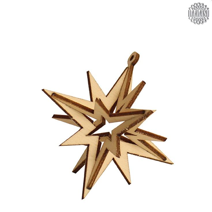 Die einfachsten Dinge sind meist die schönsten!Diese alte Weisheit trifft auch auf unsere 3D-Sterne zu. So einfach wie sie sind, so schön sind sie auch an Ihrem Weihnachtsbaum. DAMASU - Holzkunst aus dem Erzgebirge, www.damasu.de, 01733666223 http://www.damasu.de/ART_BBH1000.PHP