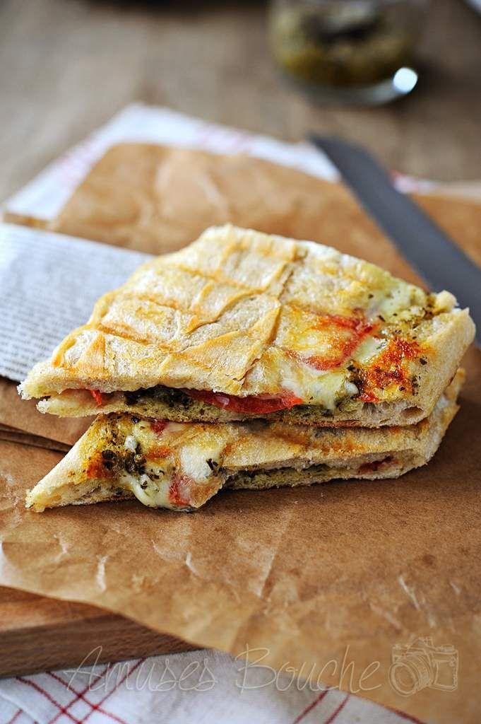 Panini Viande hachée - Tomate - Mozzarella