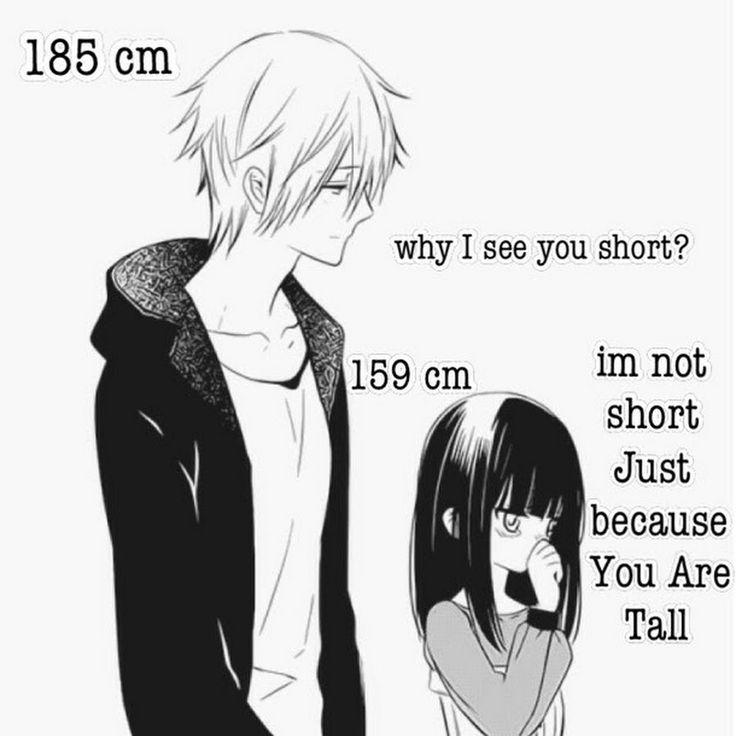 Znalezione obrazy dla zapytania short girl and tall boy