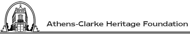 ATHENS CLARKE HERITAGE FOUNDATION