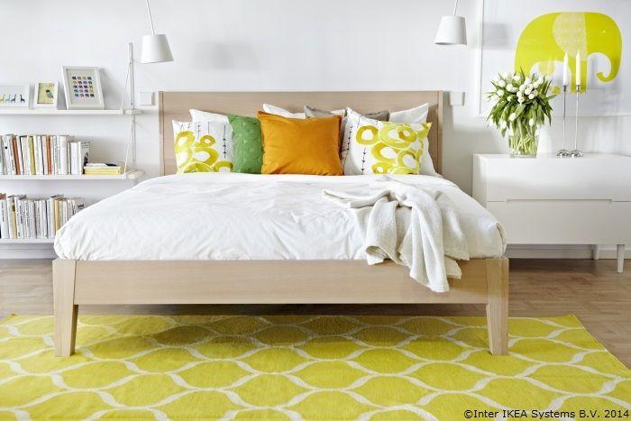 Dormitorul tău poate fi la fel de proaspăt ca o tartă cu lămâie.  www.IKEA.com/NORDLI