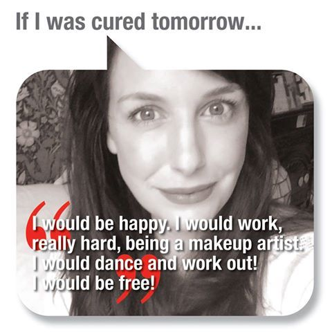 """People with #ME/#CFS answer the question: """"What would you do if you were cured tomorrow?"""" #MEcfs #CFIDS #MyE #CFSME #ChronicFatigueSyndrome"""