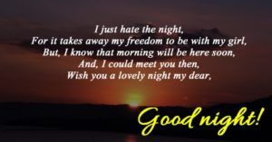 Good Night Messages and Quotes : Good night wishes and images