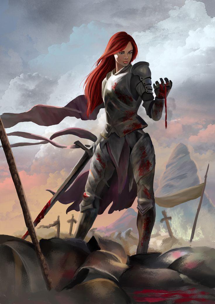 "Concept art for fantasy book series ""Upadek"". One of the main character PŁACZKA."