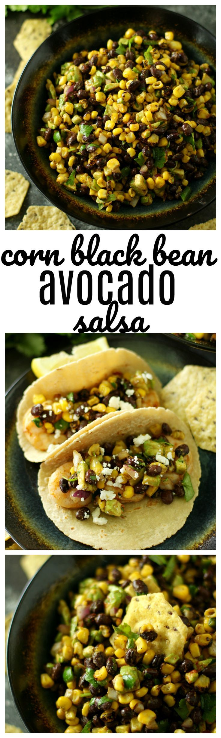 Happy Memorial Day!! You're definitely going to want to bring this new Corn Black Bean Avocado Salsa to the cookout! It works great as a dip, but also as a topping for grilled steak, chicken or fish. W/ Frontier Co-op seasonings #CookWithPurpose #GrillTheGoodness #ad